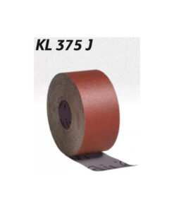 KL 375 J – Role abrazive pe suport de panza