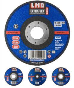 LMD – Discuri abrazive securizate pentru debitat metal