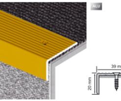 Cornier si profil pentru treapta – Impresor VA33 argintiu