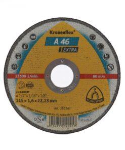 A 46 Extra – Discuri de debitare Kronenflex® pentru otel inoxidabil si metal universal