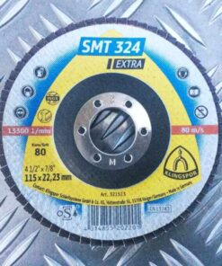 SMT 324 Extra – Discuri lamelare frontale pentru otel inoxidabil si otel
