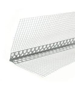 Profil aluminiu 24mm x 24mm, cu plasa 10cm x 10cm