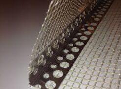 Profil aluminiu 20mm x 20mm, cu plasa 7cm x 7cm