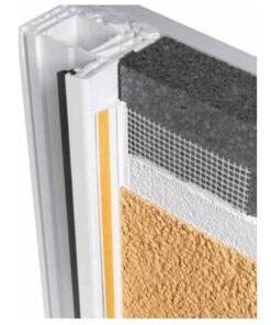 Profil PVC 6/3mm pentru ferestre si usi cu plasa de 10cm