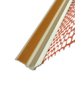 Profil PVC 9/6mm pentru ferestre si usi cu plasa de 10cm
