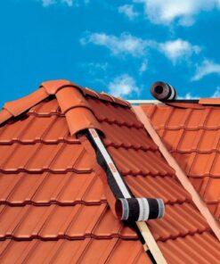Banda de Aerisire Guneroll,folosita la coama si creasta acoperisului ,culoare Caramiziu