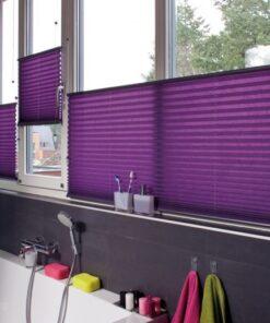 Rolete textile Plissa(Plisate) Jaluzea tip rulou Mini semi-opac-  45cm-98cm