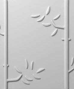 Panel Decorativ 3D, Model Anonns , Culoare Nature, Dimensiuni 50 x 50 cm