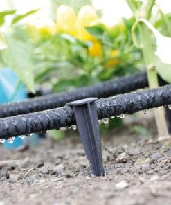 Cuie din plastic, WaterPeg, pentru fixarea furtunului de irigare, 160 mm , 1×25 buc