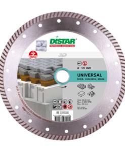 Disc diamantat Bestseller Universal 125mm Turbo 125×2 ,2x8x22, 23 , pentru caramida si beton