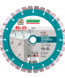 Disc diamantat Technic Advanced 150mm 1A1RSS/C3 150×2, 3x11x22, pentru beton, pavaj, granit