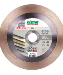 Disc diamantat Edge 200mm 1A1R 200×1, 4x25x25, 4 ,pentru placi ceramice si tigla de portelan