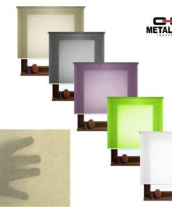 Rolete textile, Top Design NS1-NS5, semi-transparente