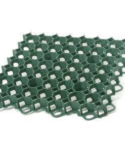 Pavele ecologice GardenPuzzle , pentru gazon ,culoare Verde ,Dimensiuni 492 mm x 492 mm x 39 mm