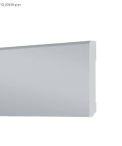 Plinta din Polimer Arbiton STIQ S0810, recomandata pentru gresie, culoare Gri, Lungime 2.4m