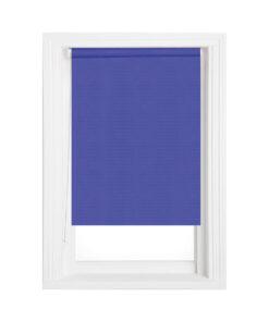 Rulou textil Gaja Mini GG-05, semi-opac, culoare albastru Myka, rolete geam
