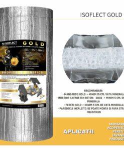 Folie bariera de vapori termoizolanta Isoflect Gold 20.4MP