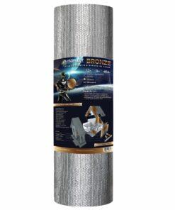 Izolatie termica reflectiva, Isoflect Bronze, aluminiu pur