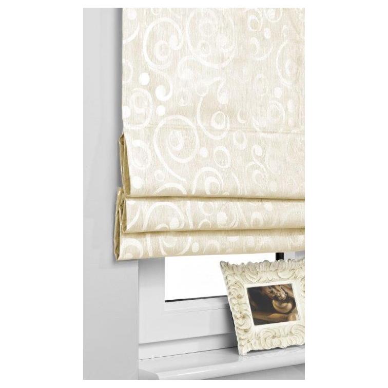 Rulouri textile Roman Blind Neo, Rolete semi-opace, culoare Crem