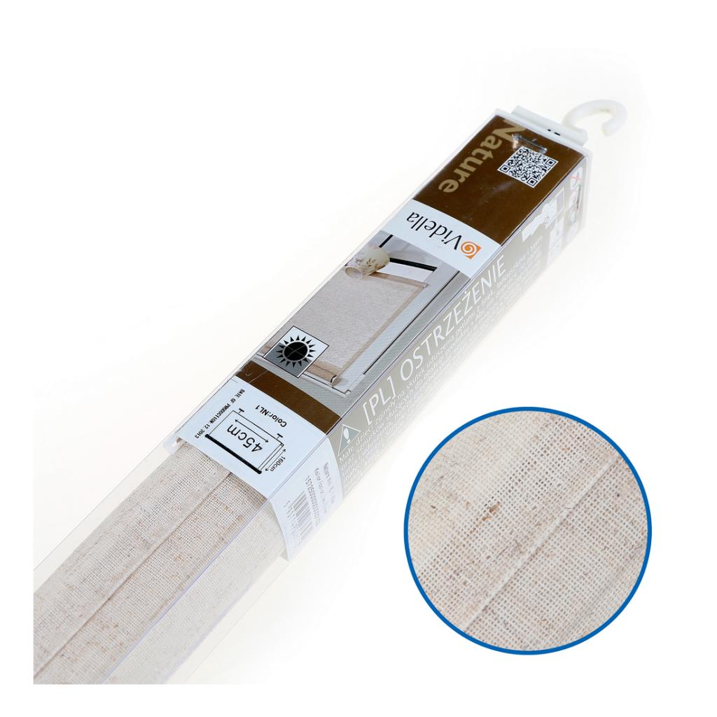 Rulou textil Mini NL-1, semi-opac, culoare nisip